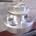 Our own design single wheel nut hub adapter