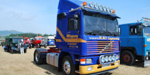 Fully restored Volvo F10.